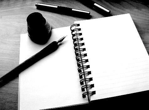 Blancas páginas de mi vida. | Letras de un escribiente.