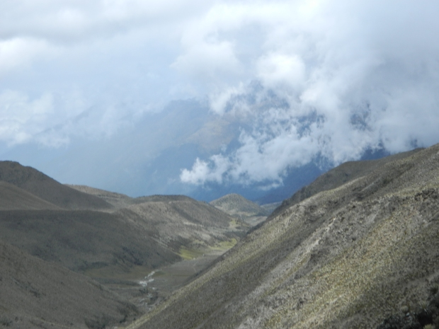 Desde la Ventana, la vista del gran Valle de la Culata.