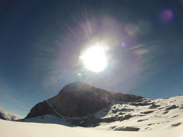 Glaciar y pico Humboldt - CulturaALT