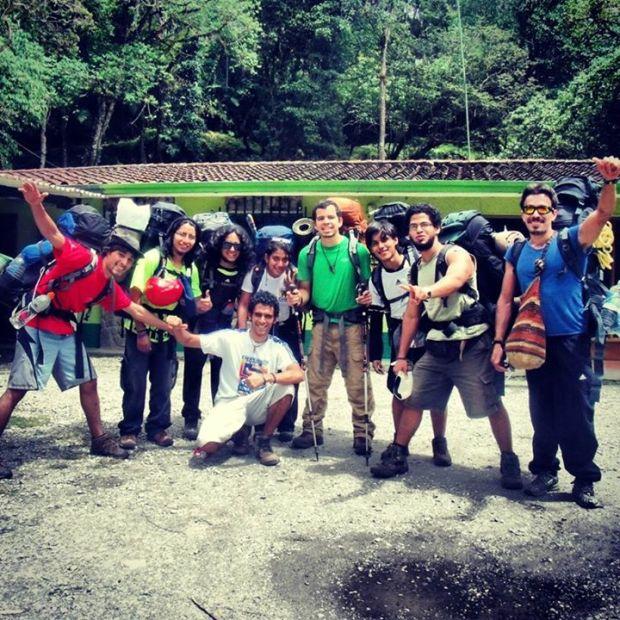 Grupo completo al Humboldt - CulturaALT